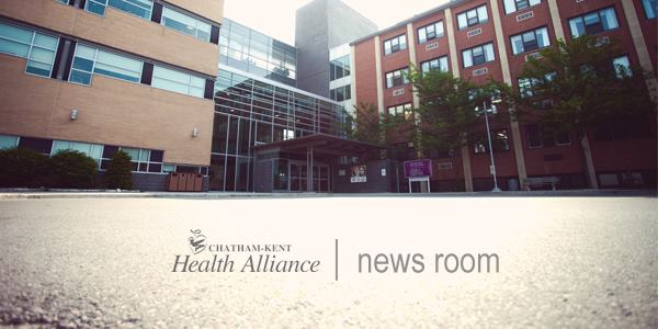News Release – Chatham-Kent Health Alliance's Mental Health Out-Patient Services Moving to Co-locate with Canadian Mental Health Association Lambton Kent at Grand Avenue Location