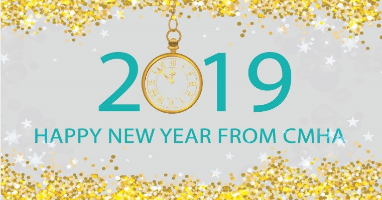 Happy New Year from CMHA Lambton Kent