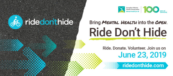 Ride Don't Hide 2019: Bring Mental Health into the Open!