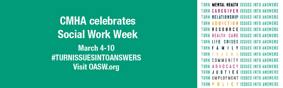 CMHA Lambton Kent celebrates Social Work Week