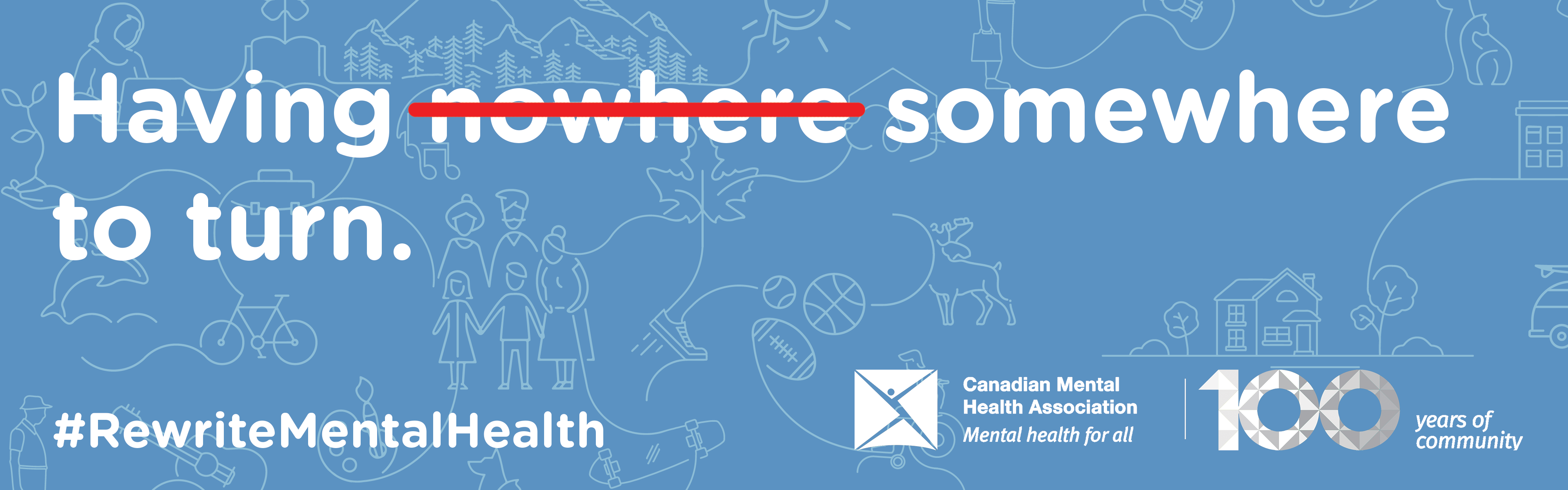 Give to rewrite the mental health story in Canada