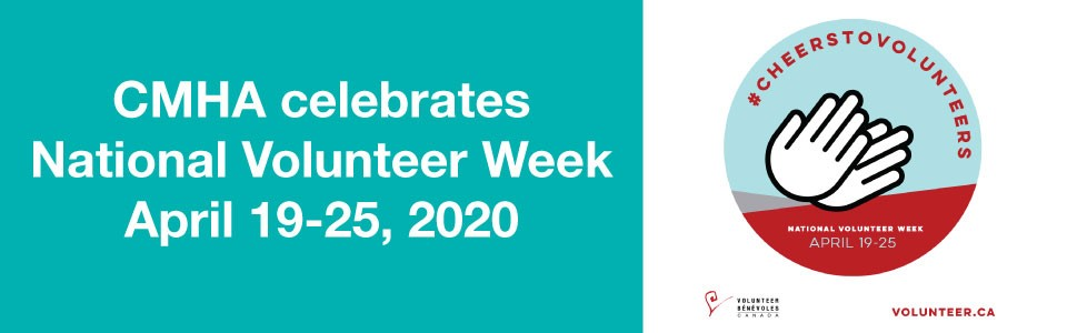 CMHA celebrates National Volunteer Week 2020
