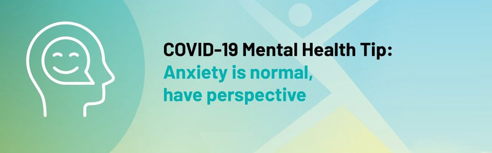 COVID-19 Mental Health Tip