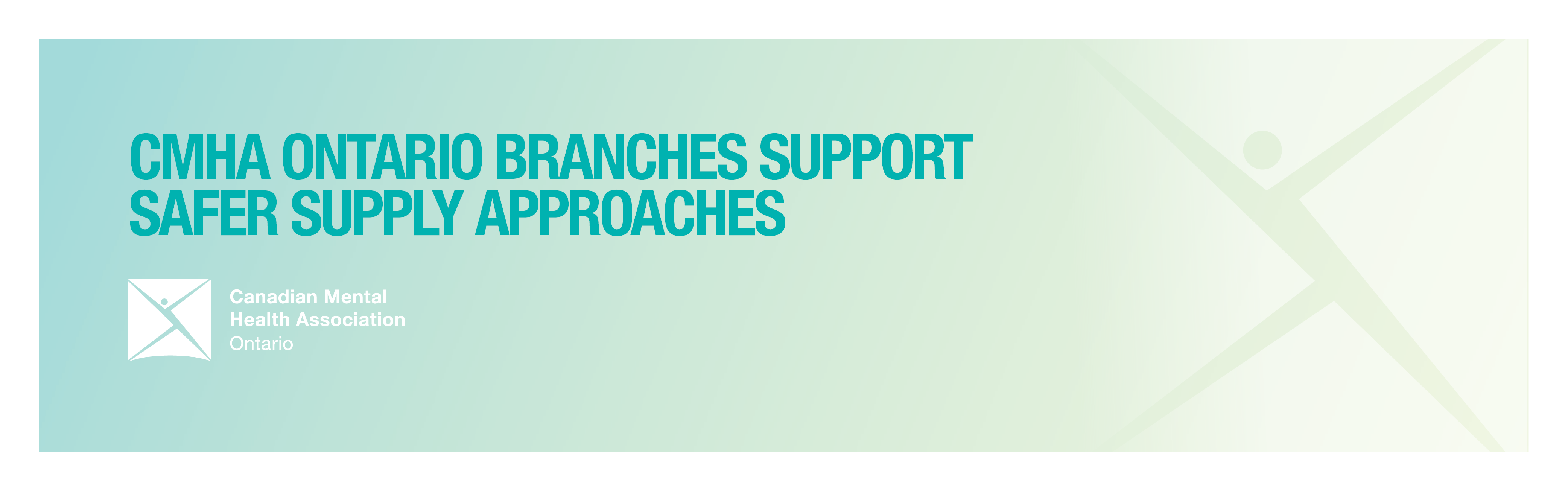 CMHA Ontario branches support safer supply approaches